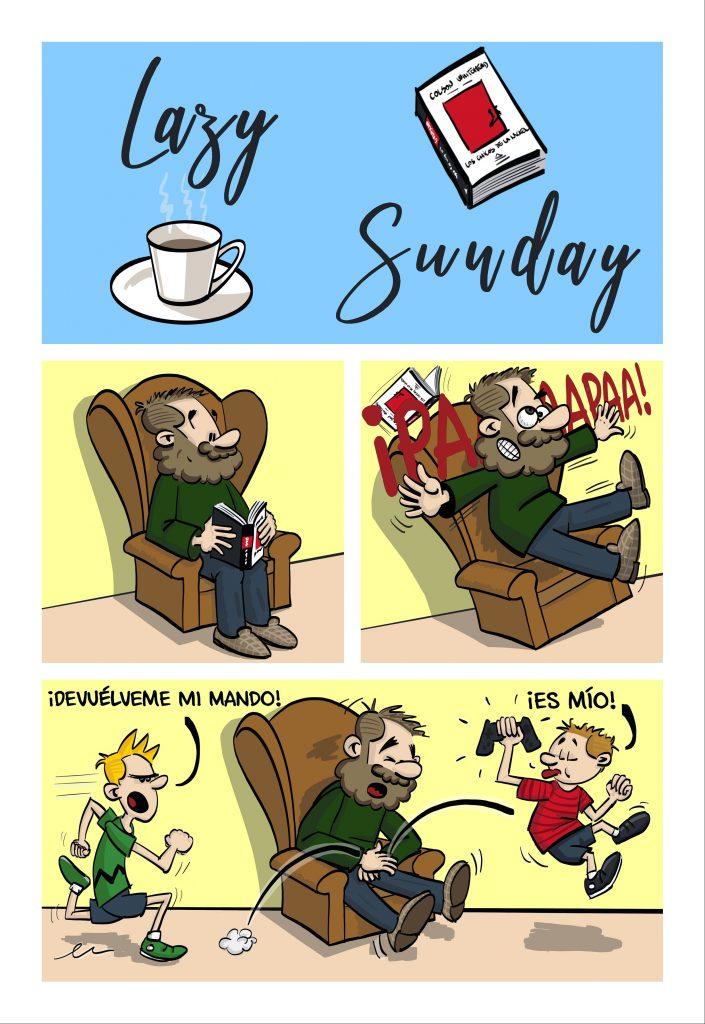 Pablo tiralineas temporada Sundays